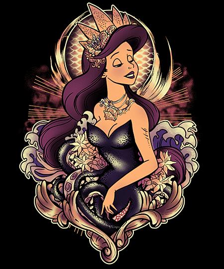 Qwertee: The Dark Mermaid