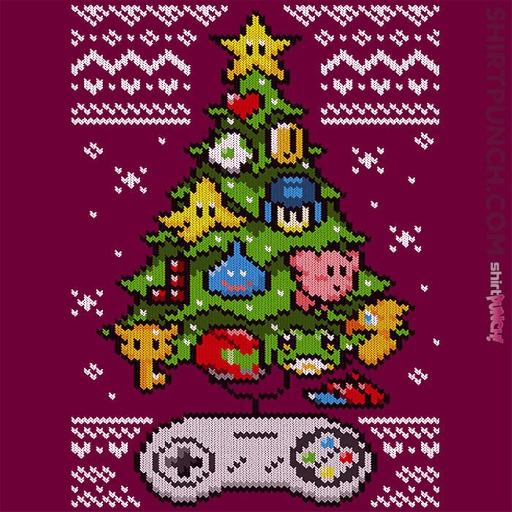 ShirtPunch: A Classic Gamers Christmas