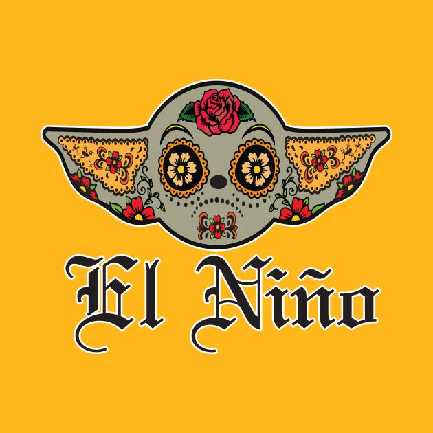 TeePublic: El Nino Sugar Skull