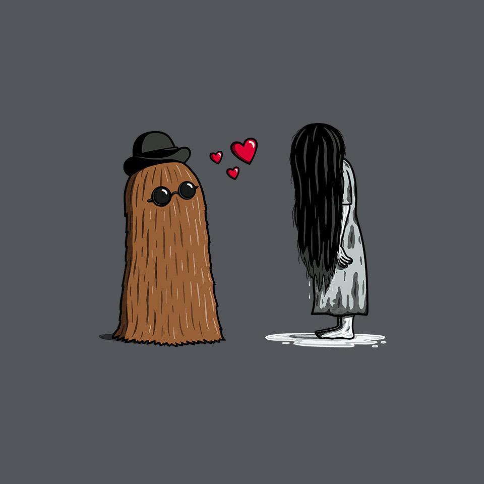 TeeFury: Hairy Love