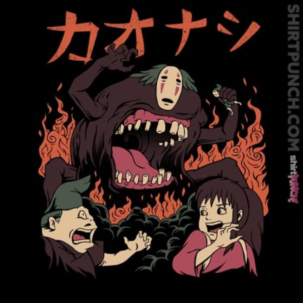 ShirtPunch: Kaiju Kaonashi