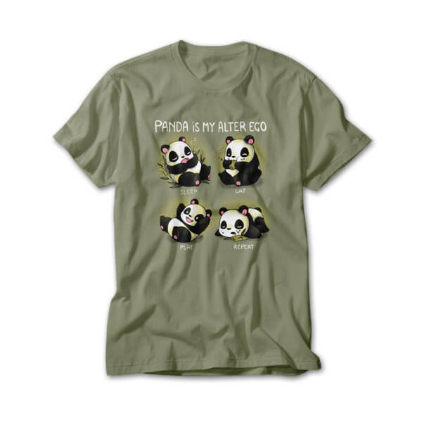 OtherTees: Panda is my alter ego