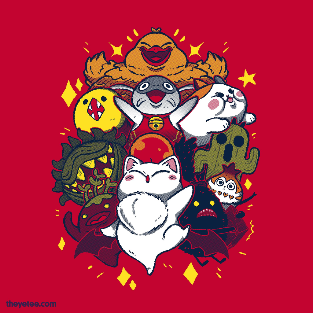 The Yetee: MMO FRIENDS!