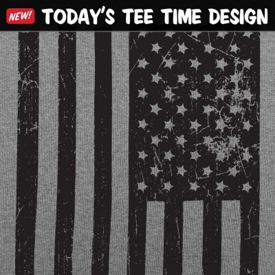 6 Dollar Shirts: Vintage USA Flag