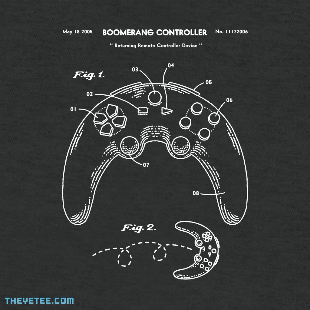 The Yetee: BOOMERANG CONTROLLER