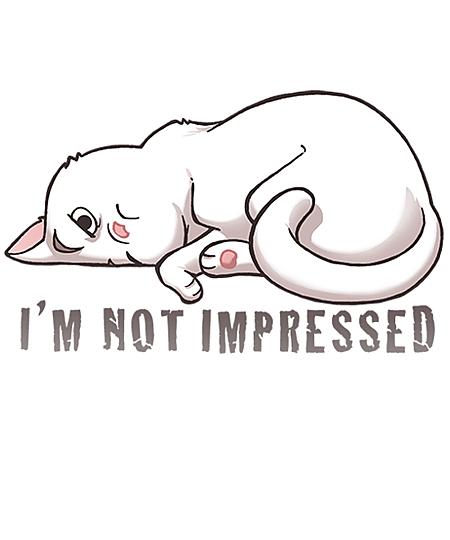 Qwertee: Apathetic Cat