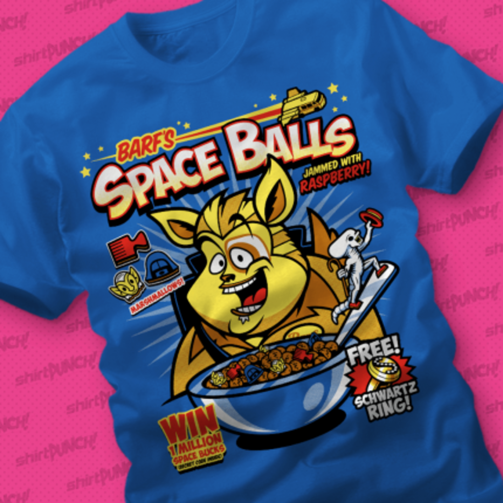 ShirtPunch: Barf's Space Balls