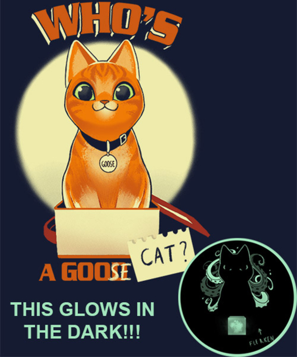 Qwertee: Who's a Goose cat?