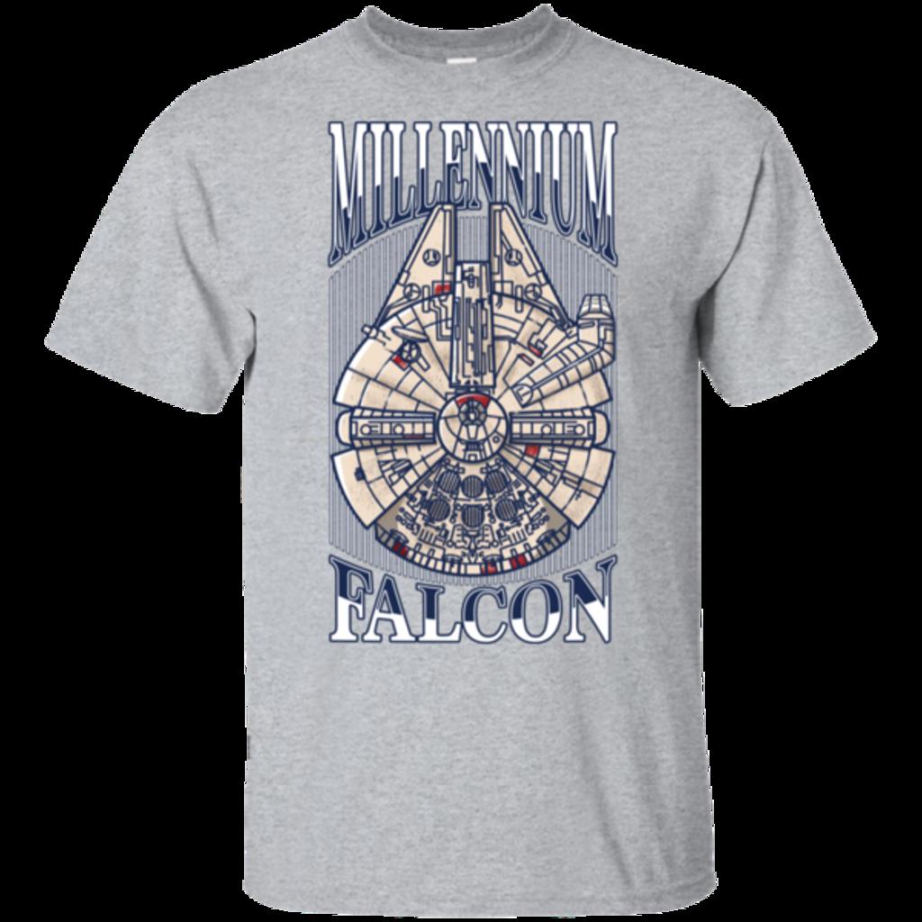 Pop-Up Tee: Millennium Falcon