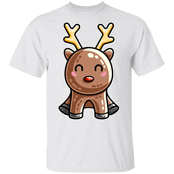 Pop-Up Tee: Kawaii Reindeer