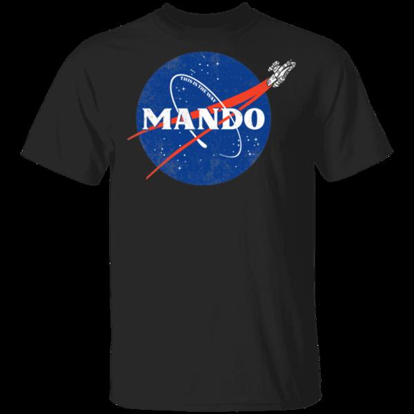 Pop-Up Tee: Mando
