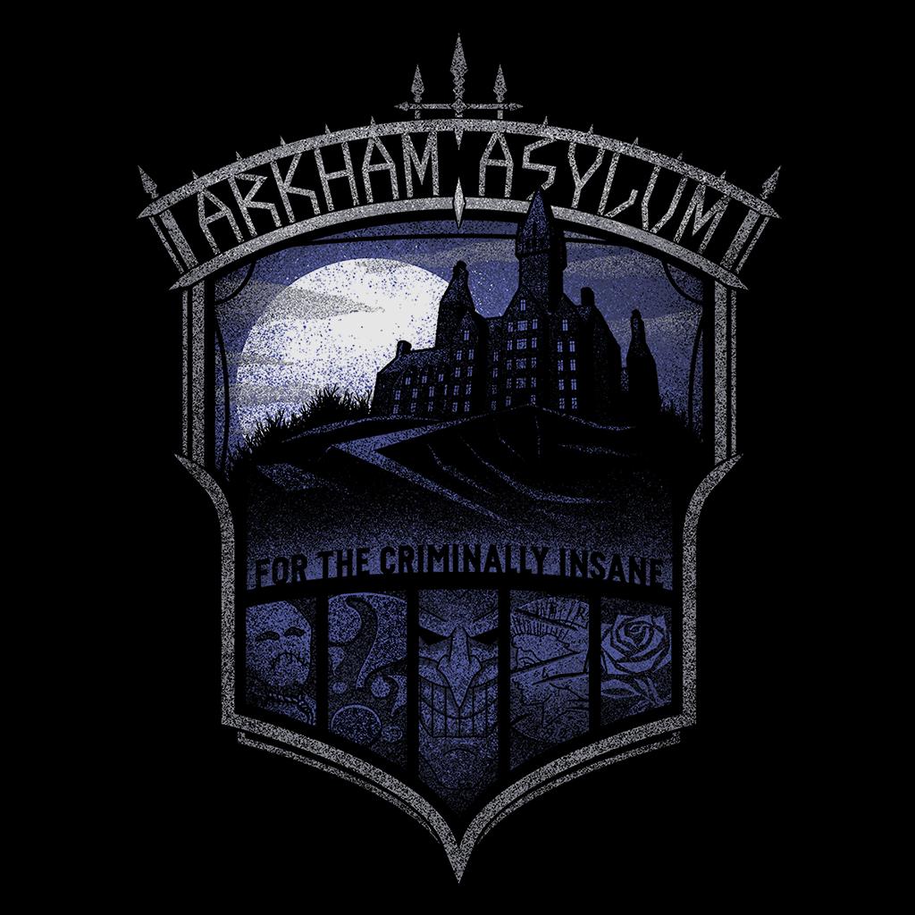 Pop-Up Tee: Arkham Asylum