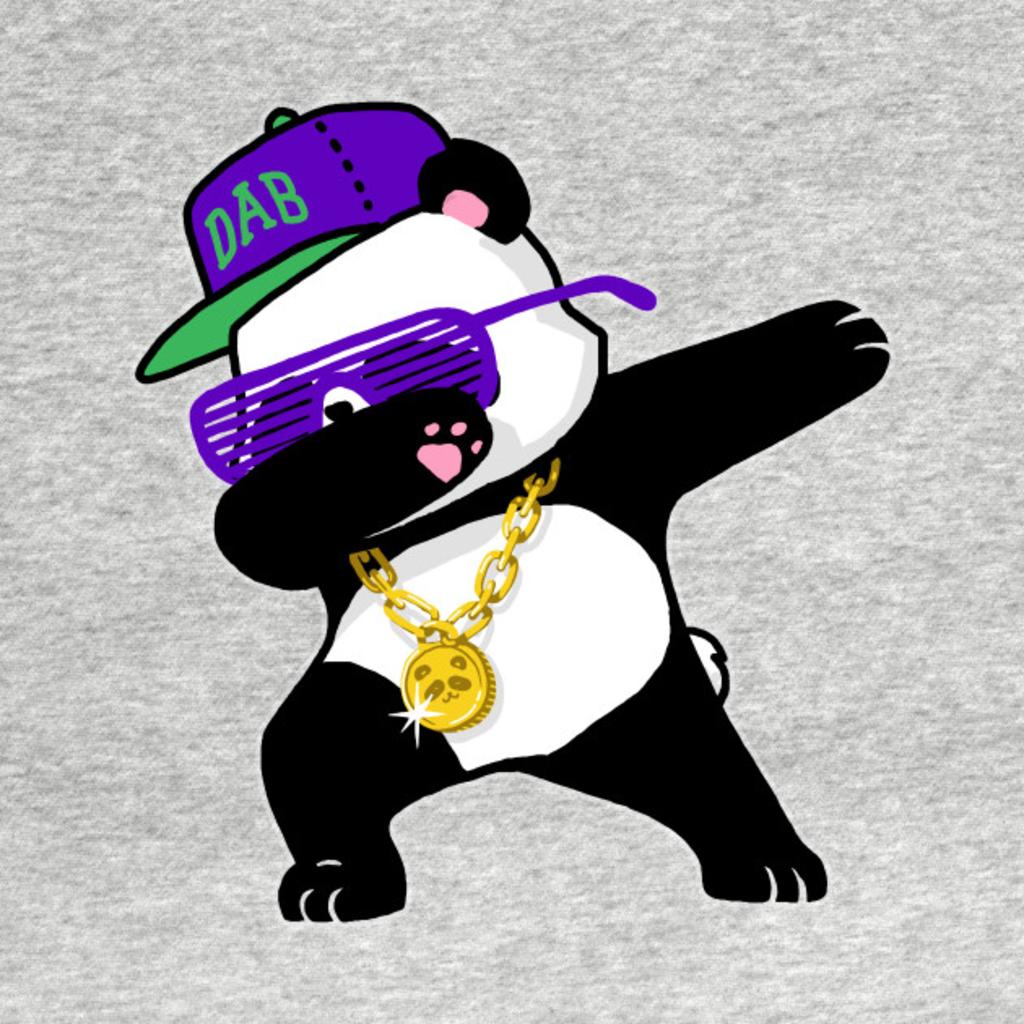TeePublic: Dabbing Panda Funny Shirt Dab Hip Hop