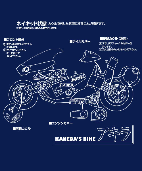 EnTeeTee: Kaneda's Bike Instructions