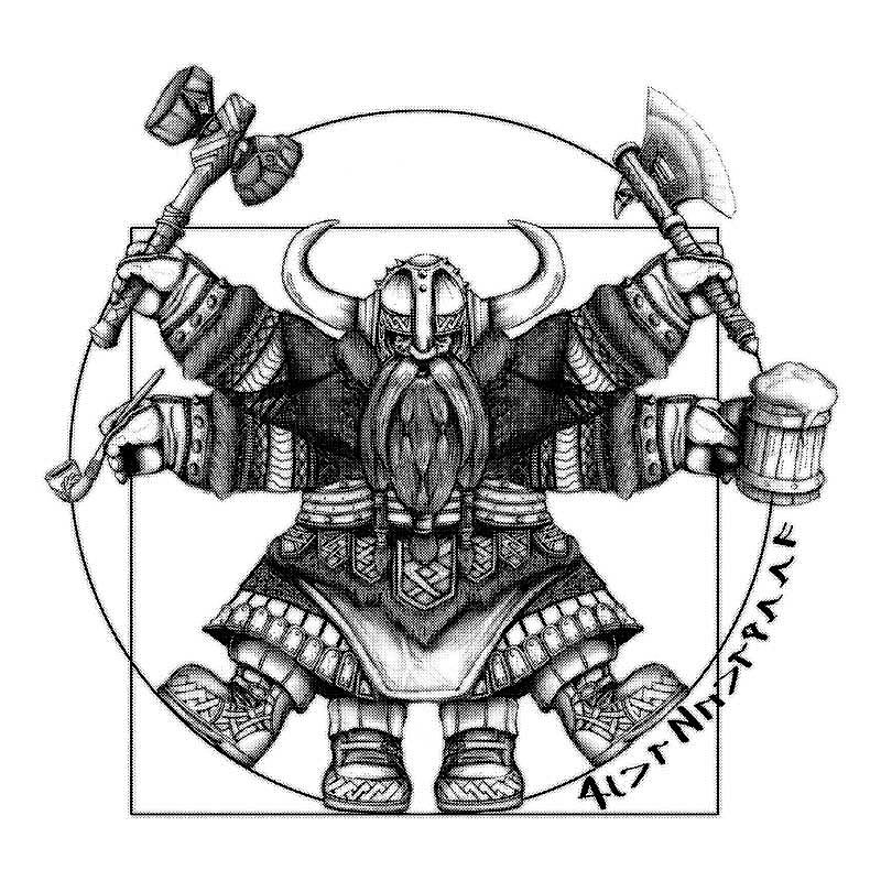 Pampling: Vitruvian Dwarf