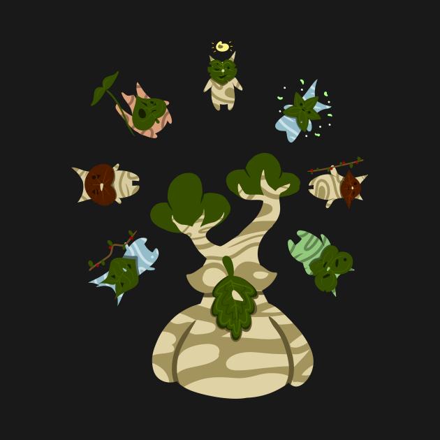 TeePublic: Korok Circle