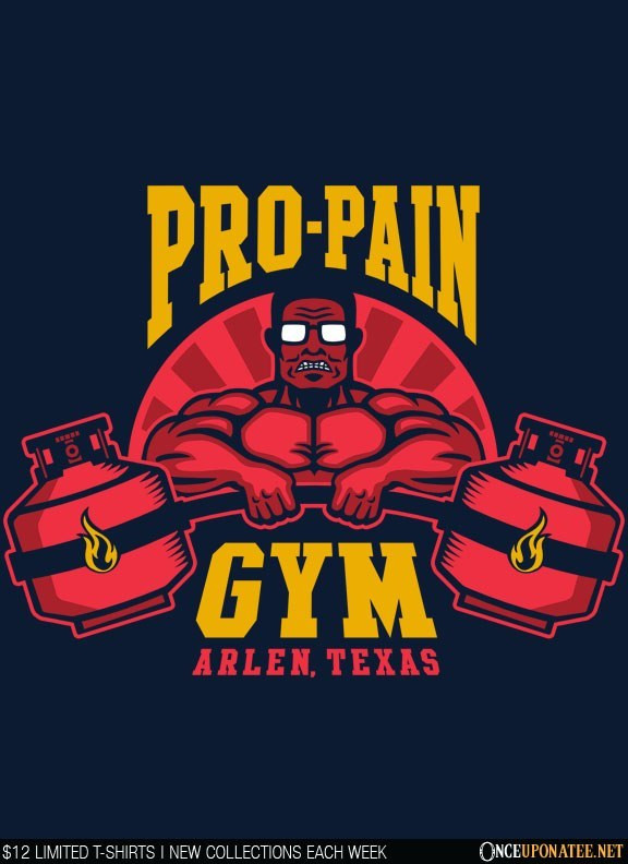 Once Upon a Tee: Propane Gym