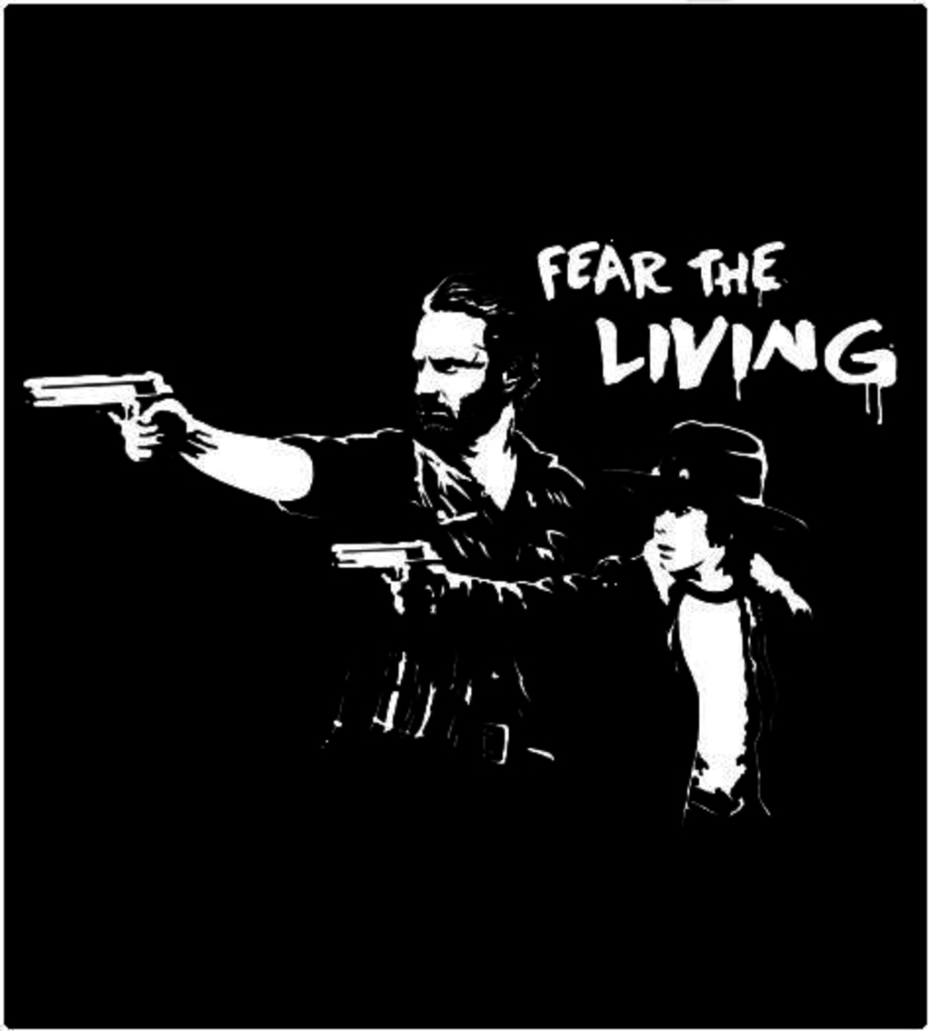 Shirt Battle: Fear The Living