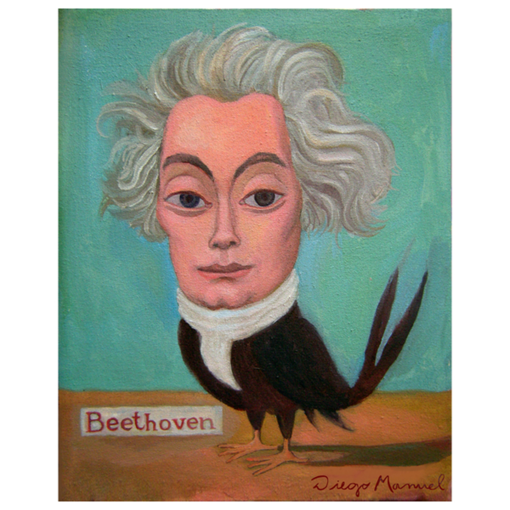 NeatoShop: Beethoven bird 3