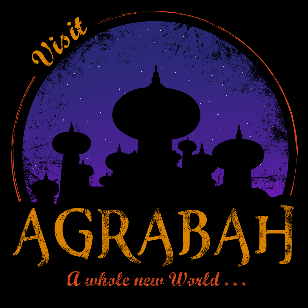 Pop-Up Tee: Visit Agrabah