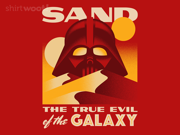 Woot!: Sand, The True Evil
