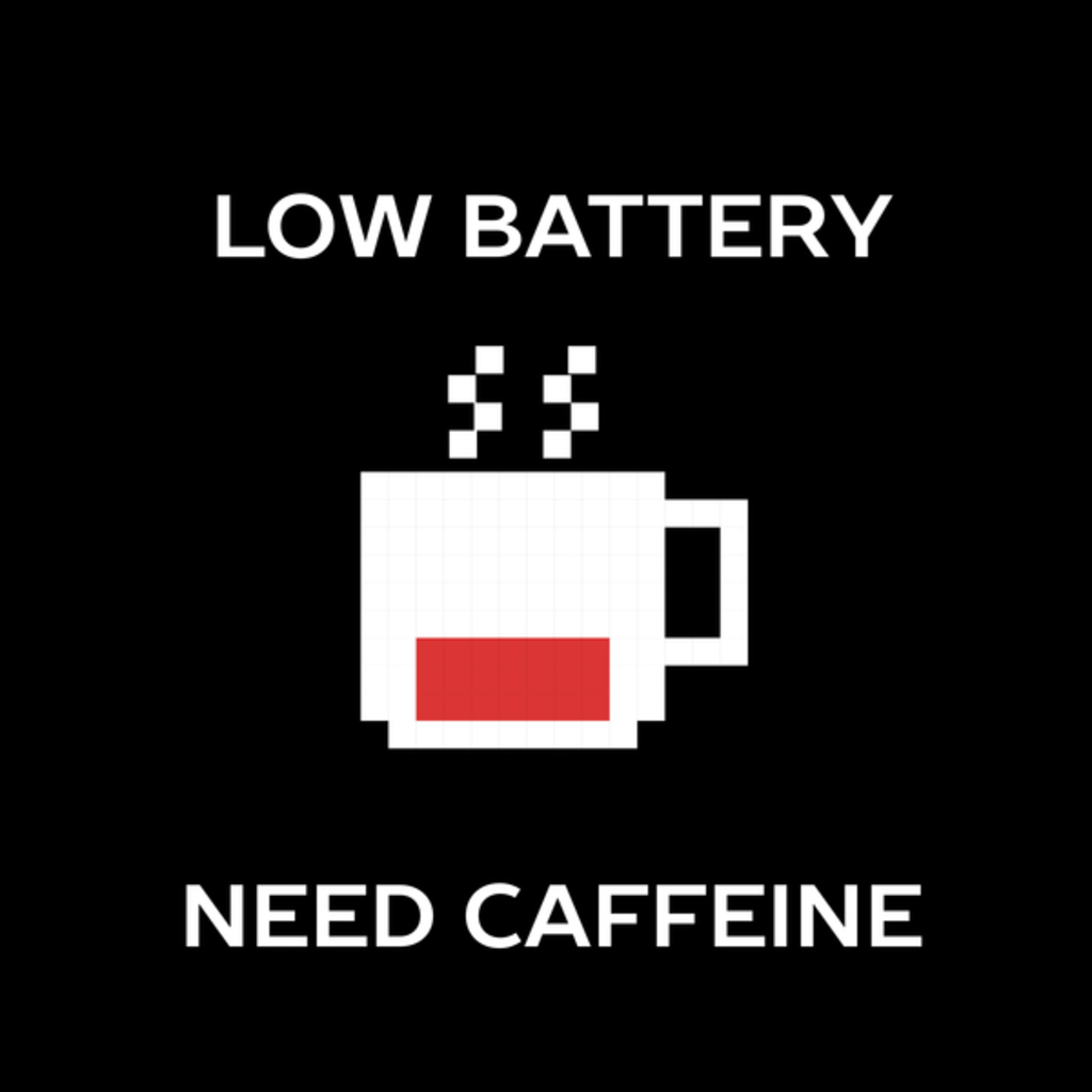 NeatoShop: So Tired Need Coffee
