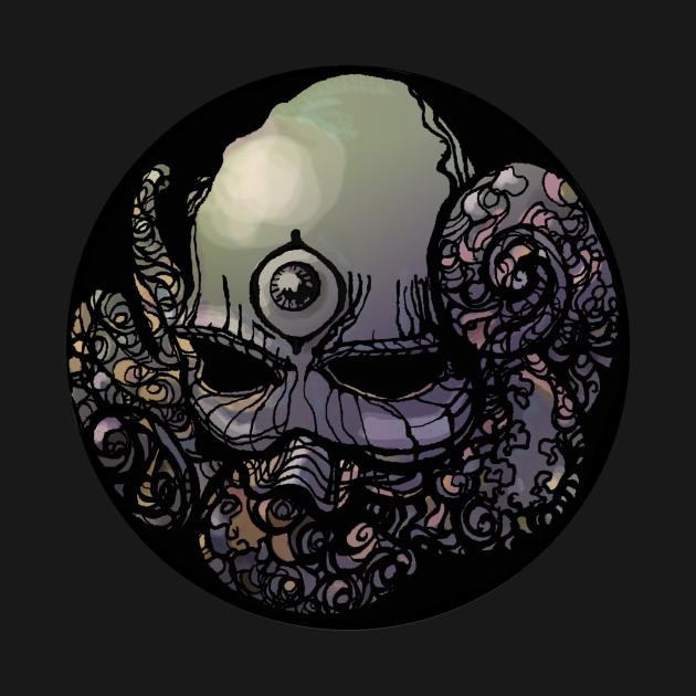 TeePublic: Octo Skullo