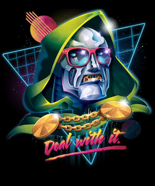 Qwertee: Deal With It