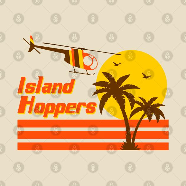 TeePublic: Magnum PI - Island Hoppers