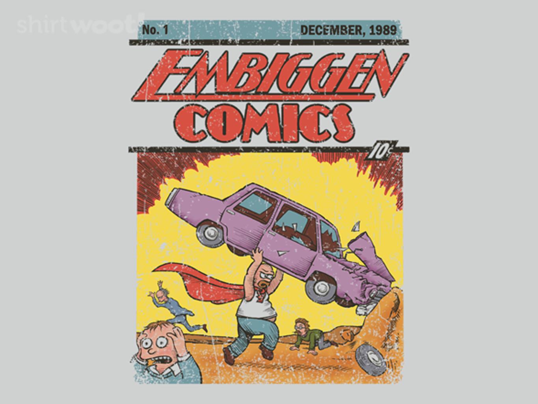 Woot!: Embiggen Comics No. 1