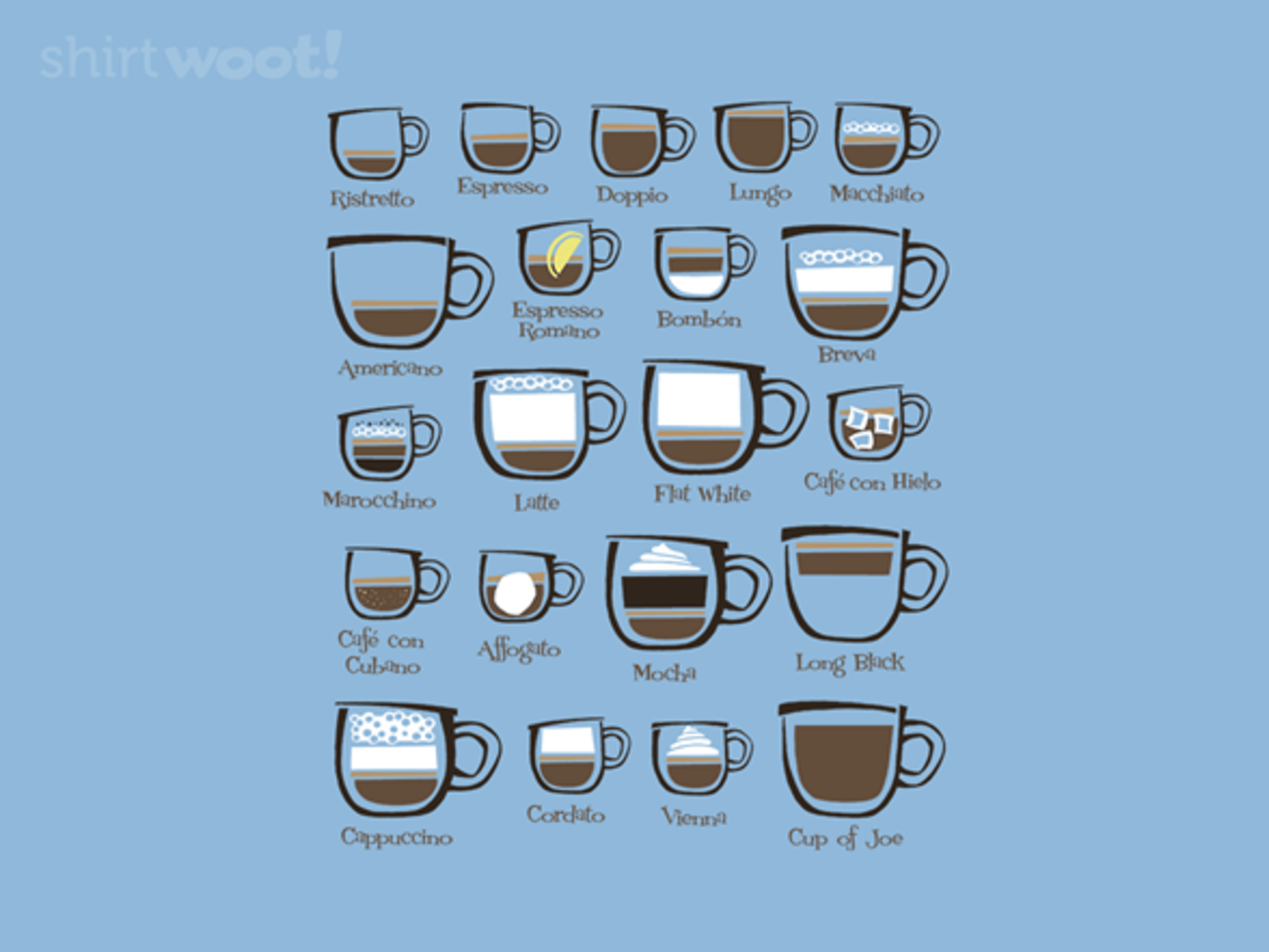 Woot!: Cup of Joe - $8.00 + $5 standard shipping