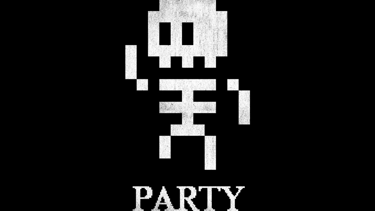 Design by Humans: 8-Bit Skeleton Party
