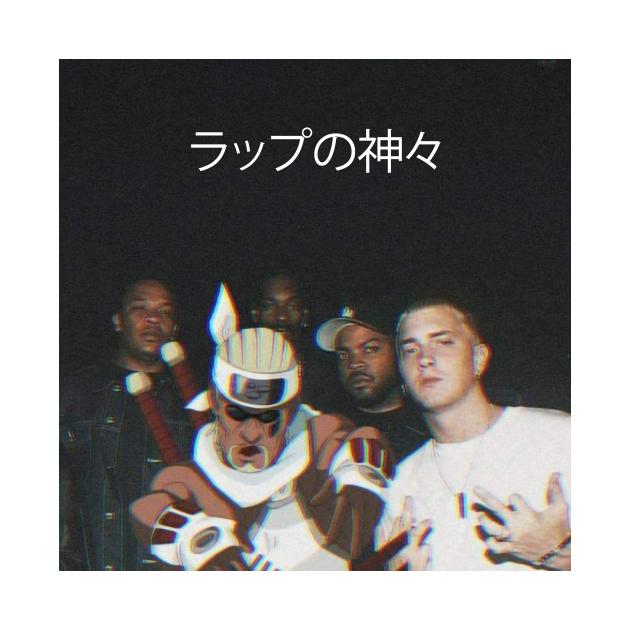 TeePublic: Naruto Rap Gods