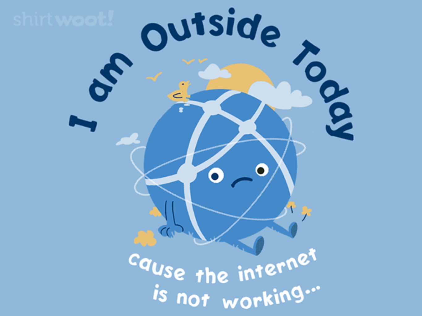 Woot!: Internet is Out