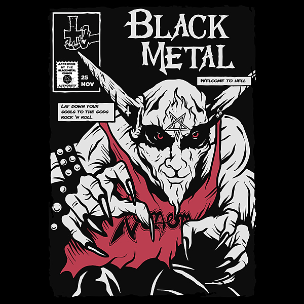 NeatoShop: Black Metal
