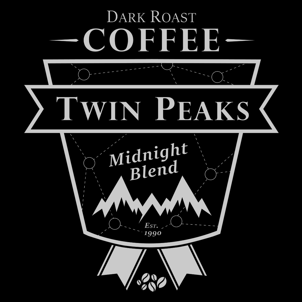 Pop-Up Tee: Twin Peaks Dark Roast