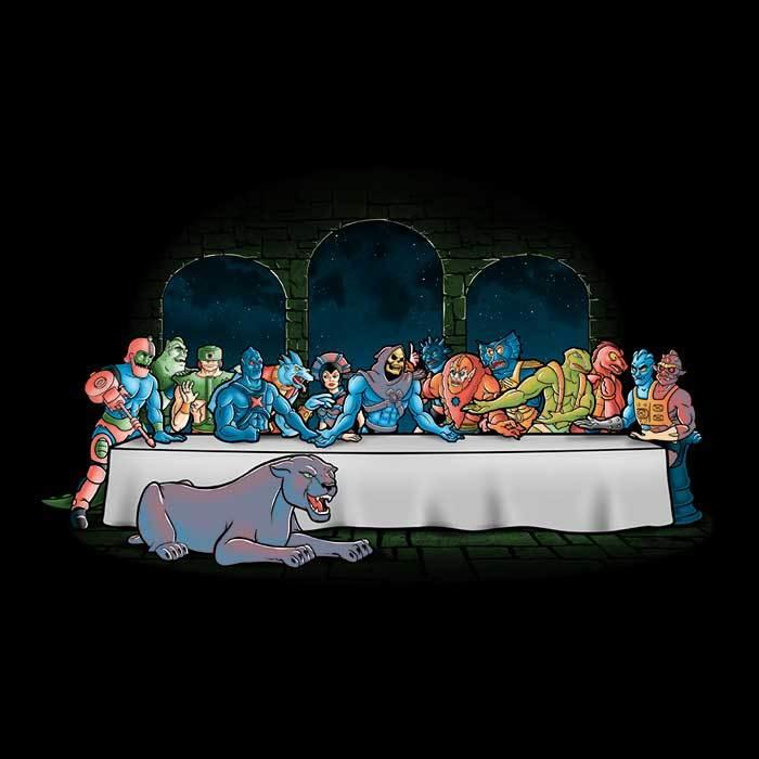Once Upon a Tee: Grayskull Dinner