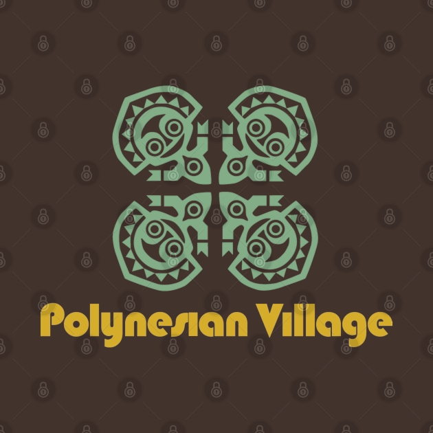 TeePublic: Polynesian Village Resort Maui Tikis