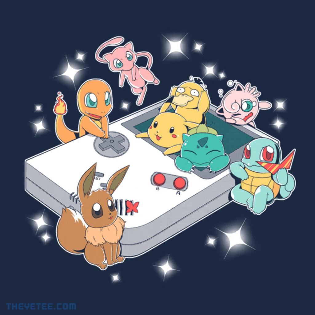 The Yetee: Pokeboy