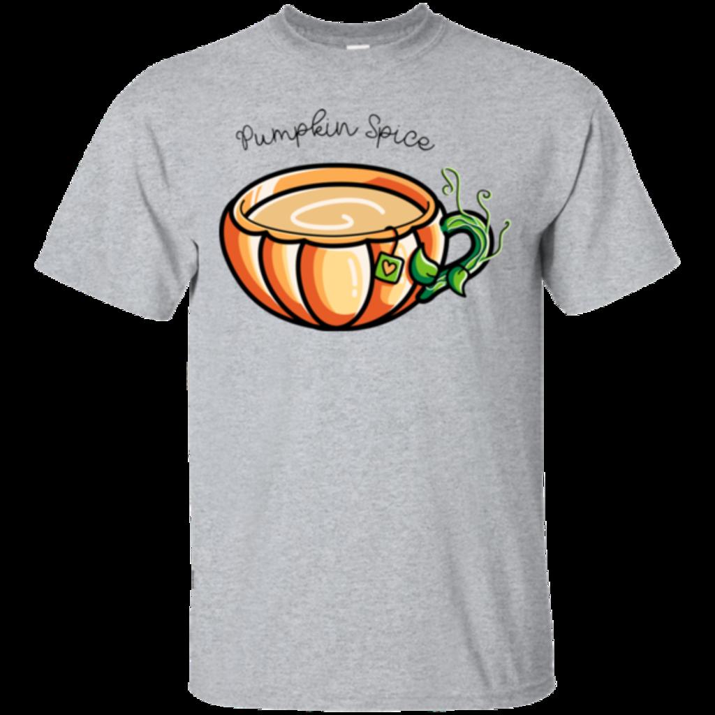 Pop-Up Tee: Pumpkin Spice Chai Tea