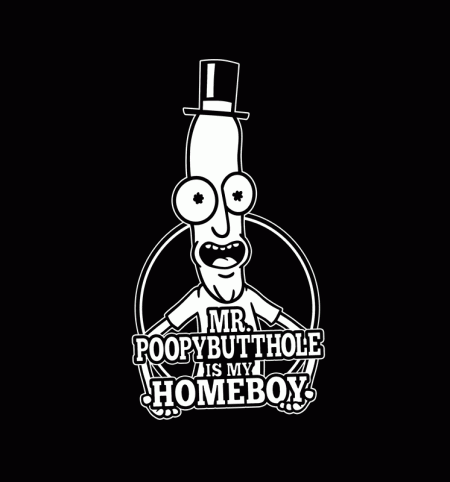 BustedTees: Mr. Poopy Butthole