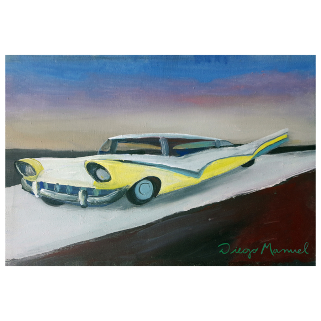 NeatoShop: The yellow car