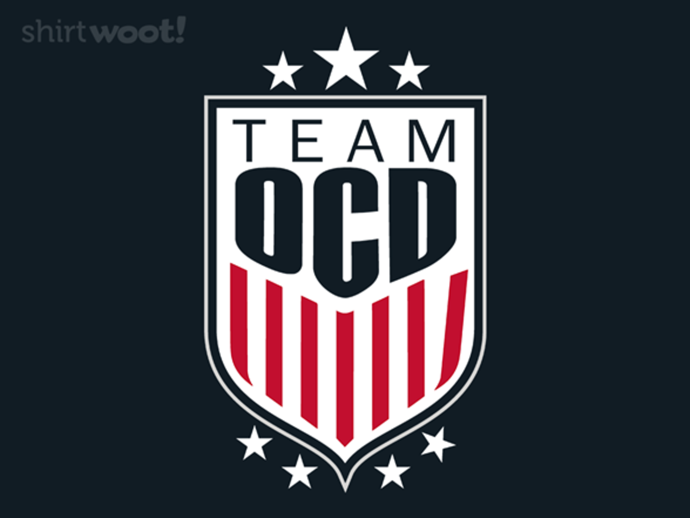 Woot!: Team OCD - $15.00 + Free shipping