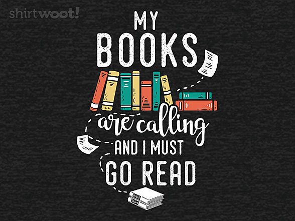 Woot!: My Books Are Calling
