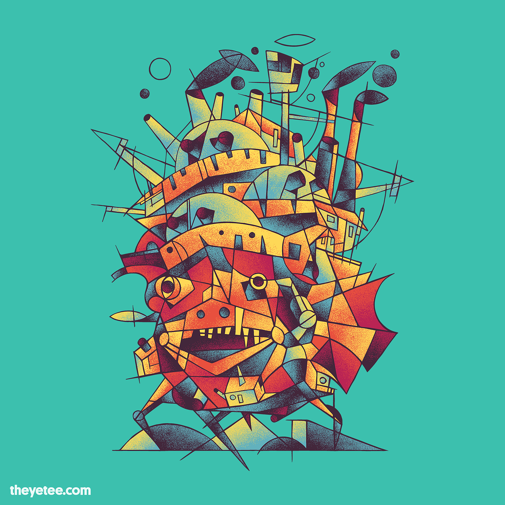 The Yetee: Cubist Moving Castle