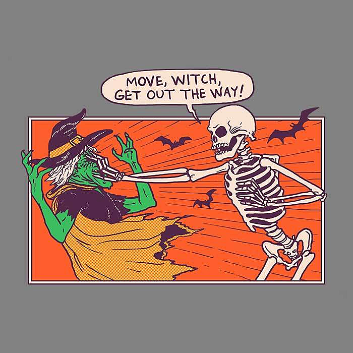 Once Upon a Tee: Move Witch