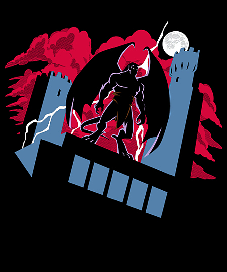 Qwertee: Goliath: The Animated Series