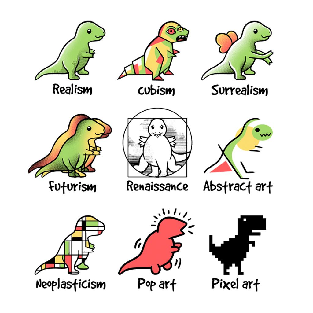 Pampling: T-Rex Art