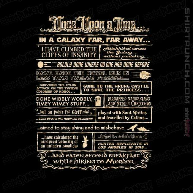 ShirtPunch: Once Upon A Time