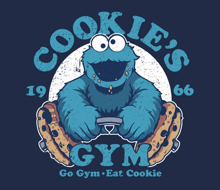TeeFury: Cookies Gym